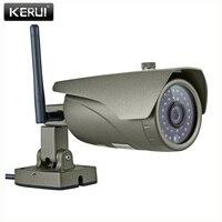 Real Time 1 0Megapixel 1MP 720P Waterproof Outdoor Indoor Wireless IP Camera WIFI P2P Onvif Audio