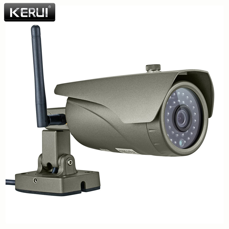 KERUI Real-time Melihat WIFI IP Kamera P2P 2.0MP Waterproof Luar Full HD 1080 P Onvif Surveillance Camera dengan HDMI VGA Output