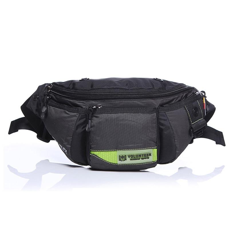 Men's Waterproof Oxford Fanny Waist Bags Bum Hip Belt Purse Pouch Shoulder Crossbody Messenger Bag Male Military Chest Day Pack