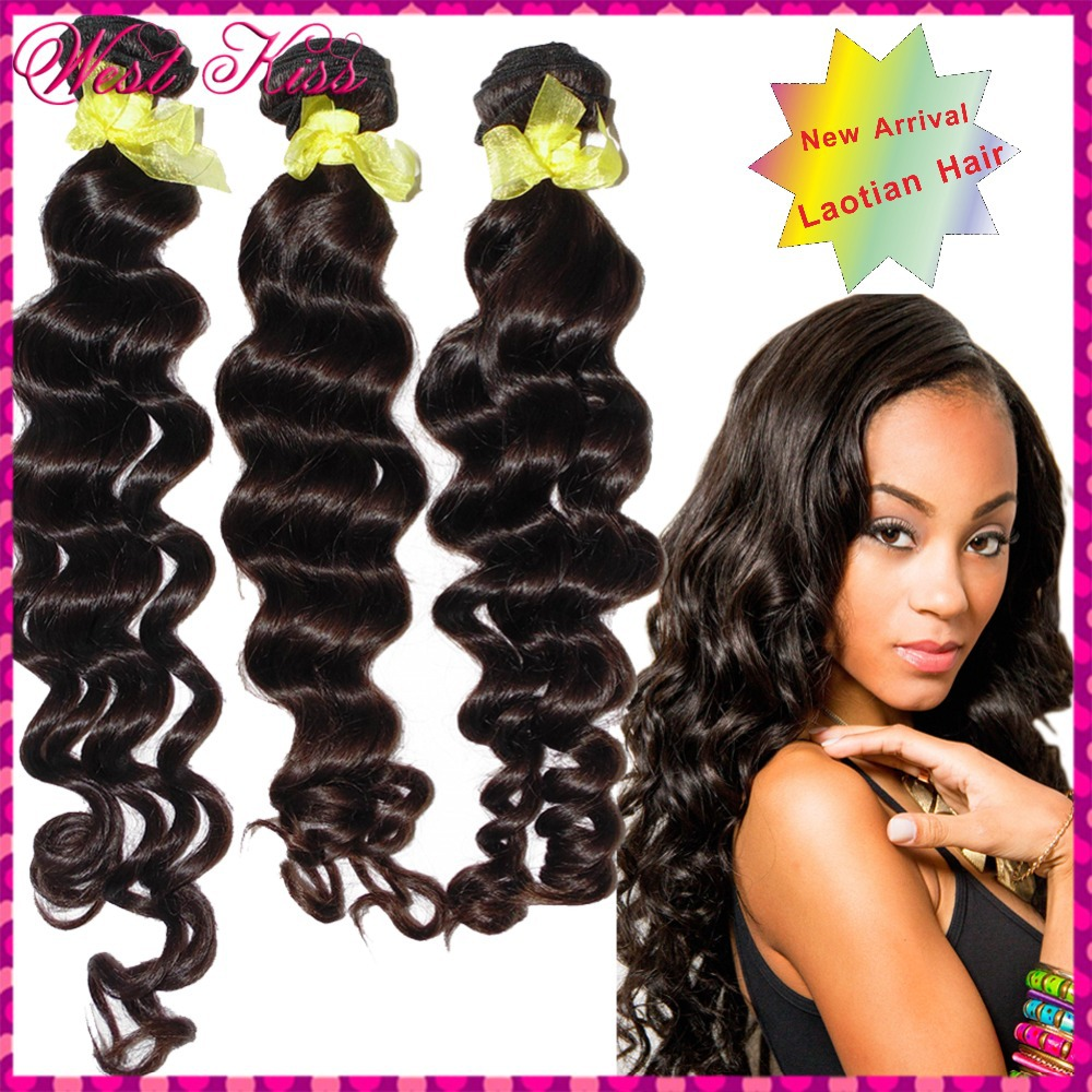 100 Real Human Hair 8a Best Laotian Deep Loose Curly Virgin Hair