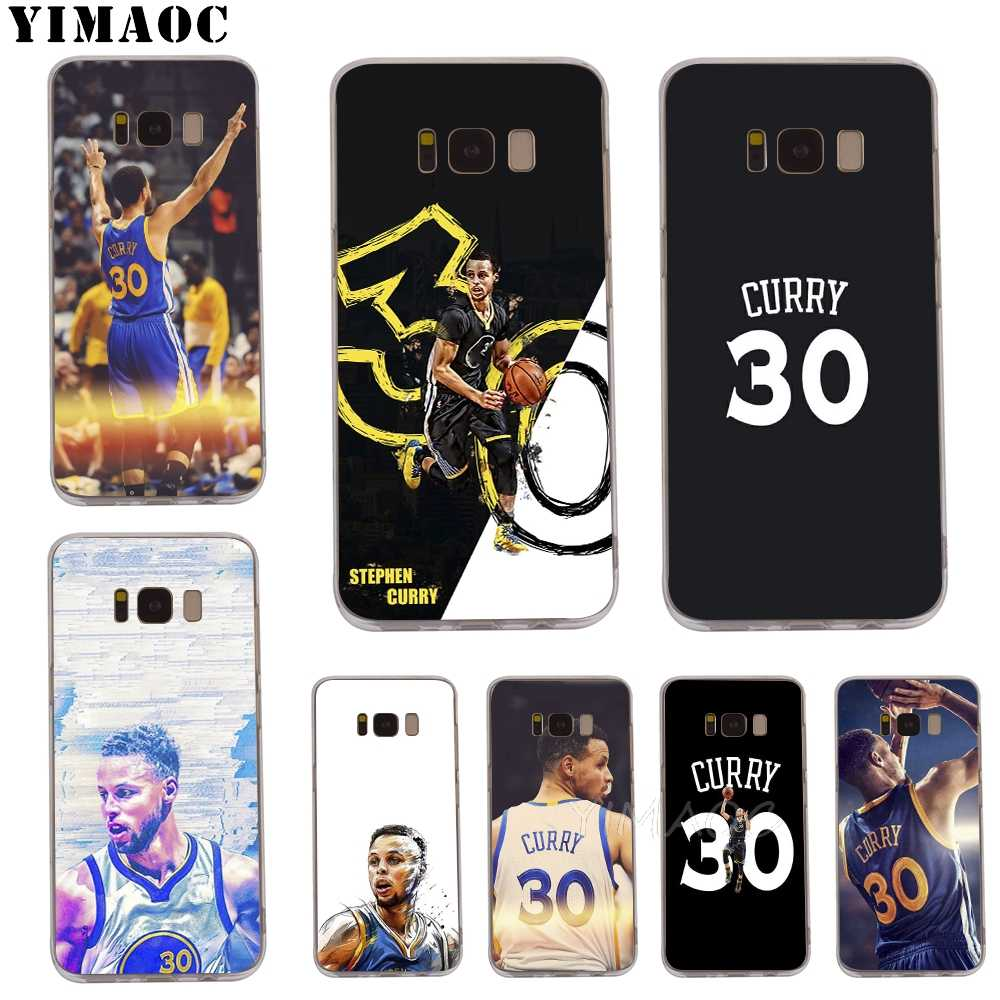 new product 55ad9 41eae Detail Feedback Questions about YIMAOC Stephen Curry Soft TPU Case for Galaxy  j3 j5 j6 j7 A5 2016 2017 A6 A9 2018 Note 8 9 S7 edge S8 S9 S10 Plus S10e ...