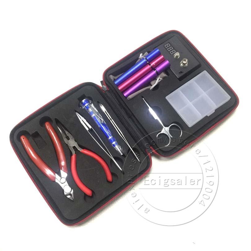 E XY Magic CW Tool Coil Vape Complete kit E cig Master Tweezers DIY jig Meter