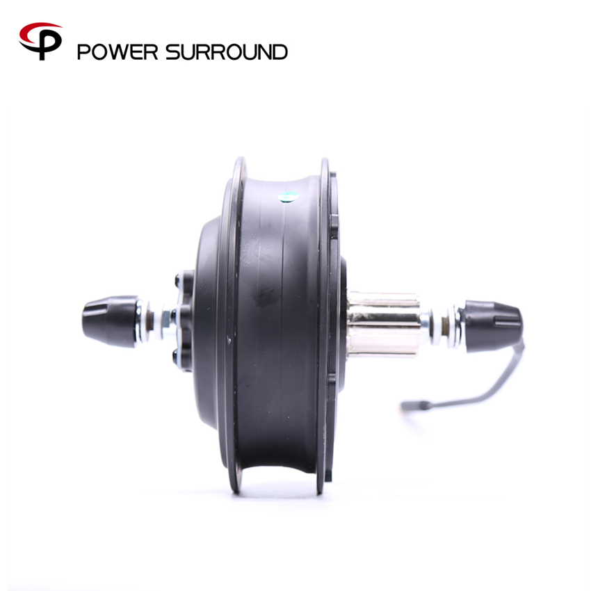 2018 Real Sale Dgw22c 48v500w Rear motor wheel motor Brushless Electric Bike Kit Black Hub Motor 255rpm For Electric Bike
