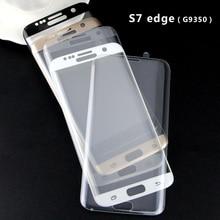 Wangcangli Защитное стекло для Samsung Galaxy S8 S7 S8 плюс защита экрана S7 Edge Защитное стекло для S8 3D полный охват