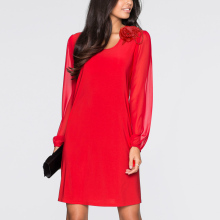 Vintage De Fiesta Robe New Arrival Womens Cute  Knee Dress
