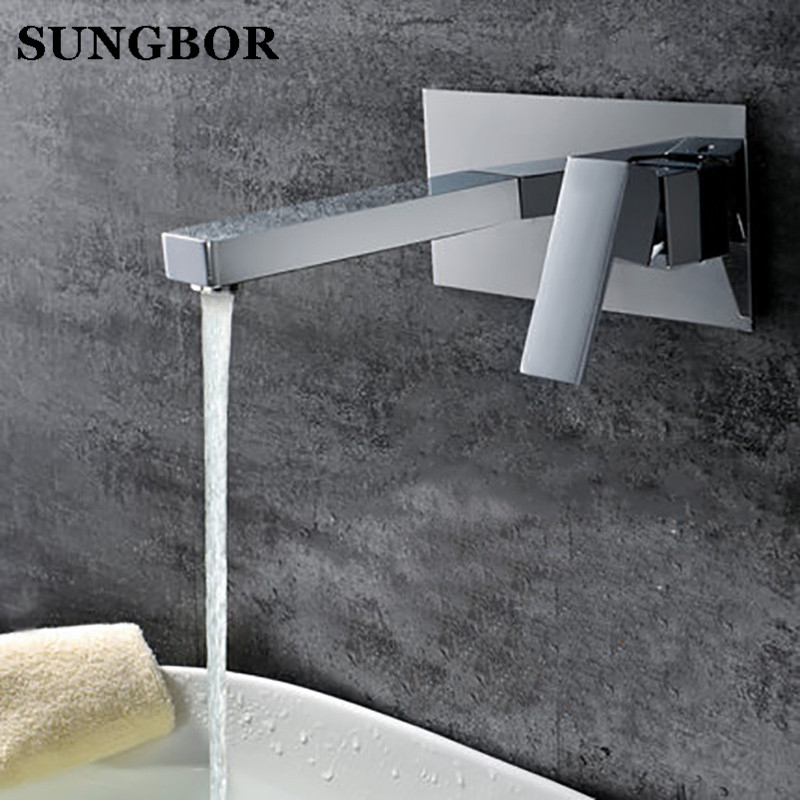Bathroom Faucet Into the wall cold and hot Water Taps Embedded type Mixer Single Handles Table basin wash basin faucet LT-306L pastoralism and agriculture pennar basin india