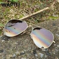Cam Lensler Pilot Güneş Kadınlar Marka Tasarımcısı erika Havacılık Erkekler altıgen Sürüş Güneş Gözlük Vintage óculos de sol 3025