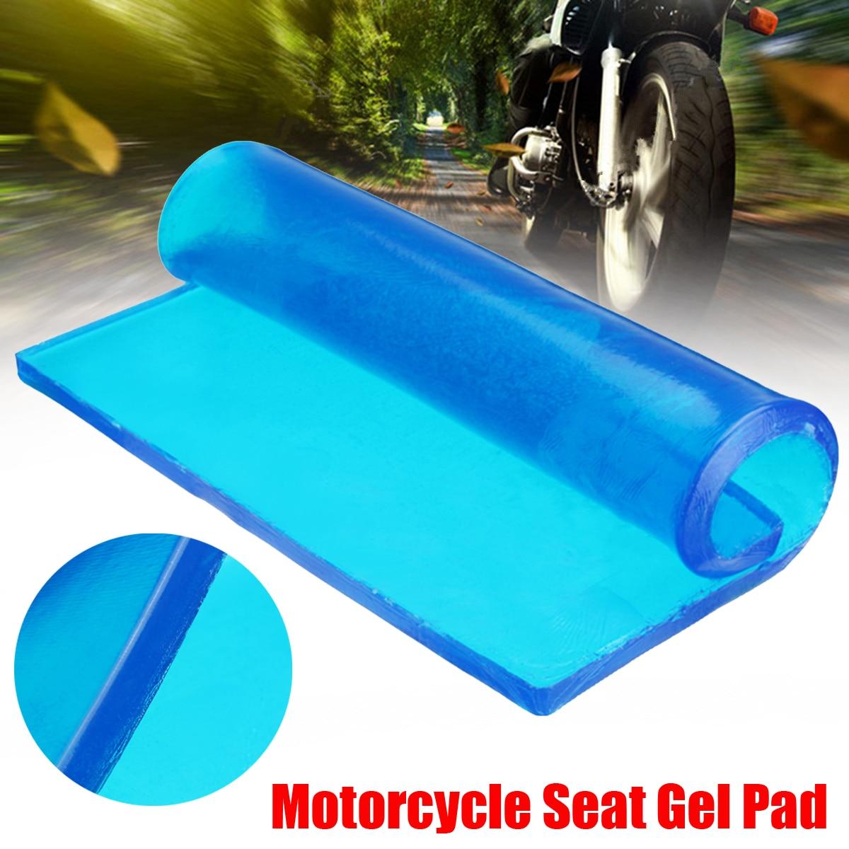 Новый DIY Изменение 48x35x2 см Толщина демпфирования силиконовый гель Pad мотоцикл подушки сиденья удобный коврик амортизацией коврики