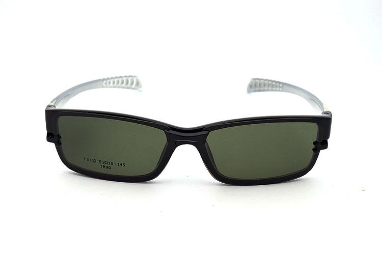 4841ffbbd0 Free Shiping Ultra light Tr90 Eyeglasses Frame Belt Magnet Clip ...