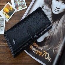Горячая Новинка! Высокое качество Натуральная кожа кошелек для женщин, кошелек с застежкой HWG01