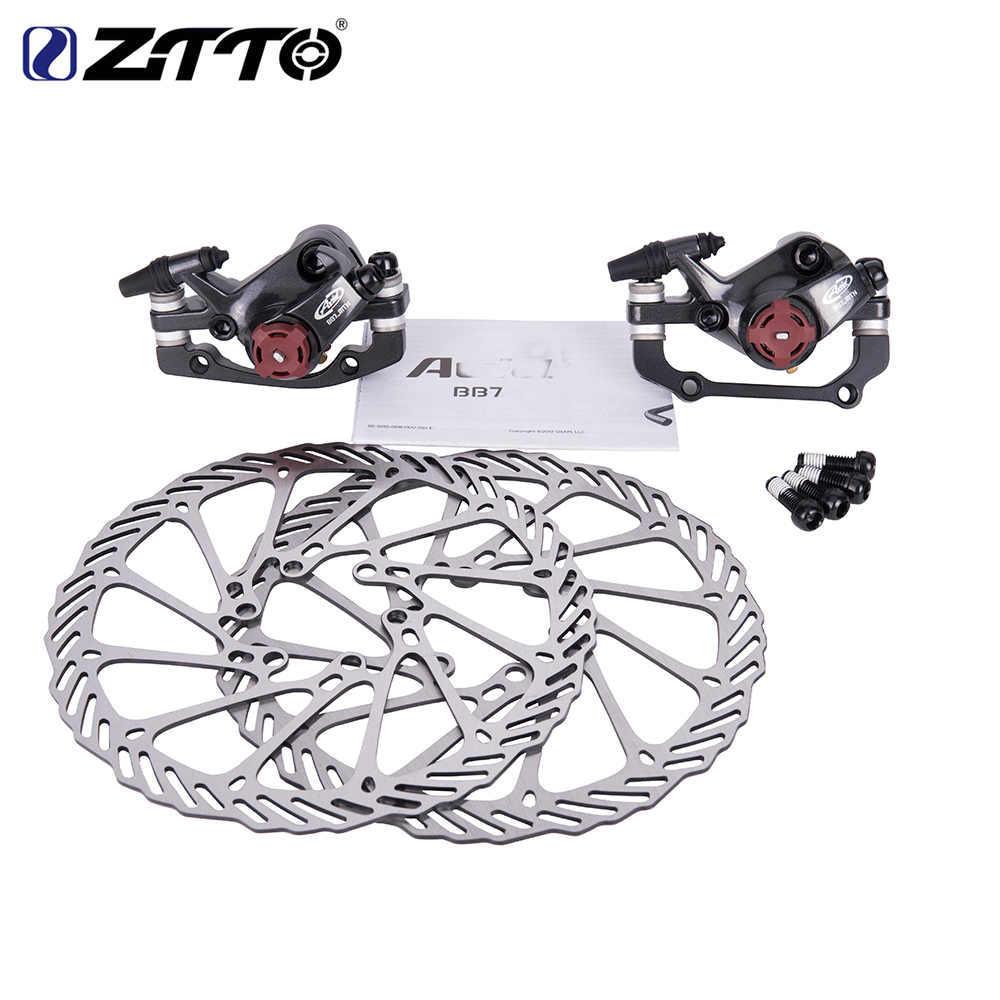 ZTTO BB7 MTB Mountain Bike Mechanical Disc Brakes Calipers Bicycle Parts 1 Pair 2pcs