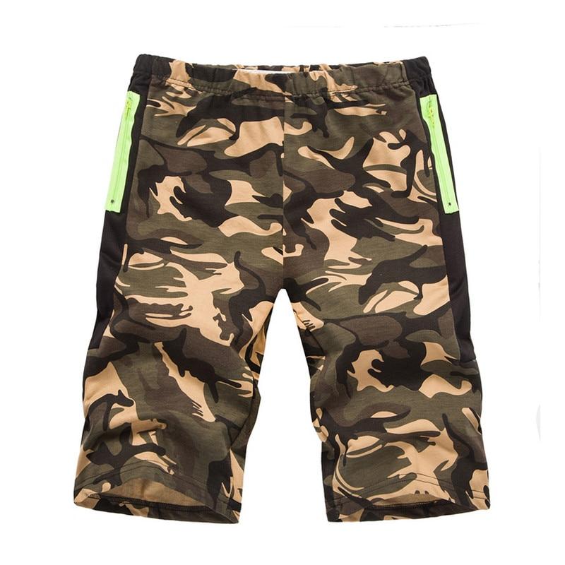 2018 Neue Cargo-shorts Männer Sommer Top Design Camouflage Militär Casual Shorts Homme Baumwolle Mode Marke Kleidung SorgfäLtige FäRbeprozesse