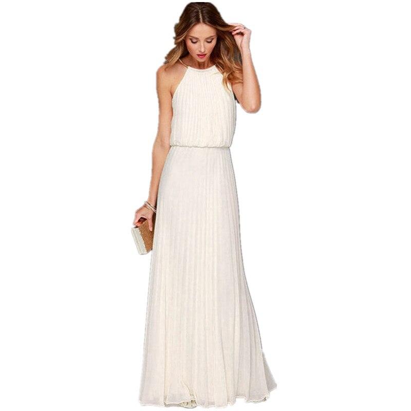Long White Summer Dresses