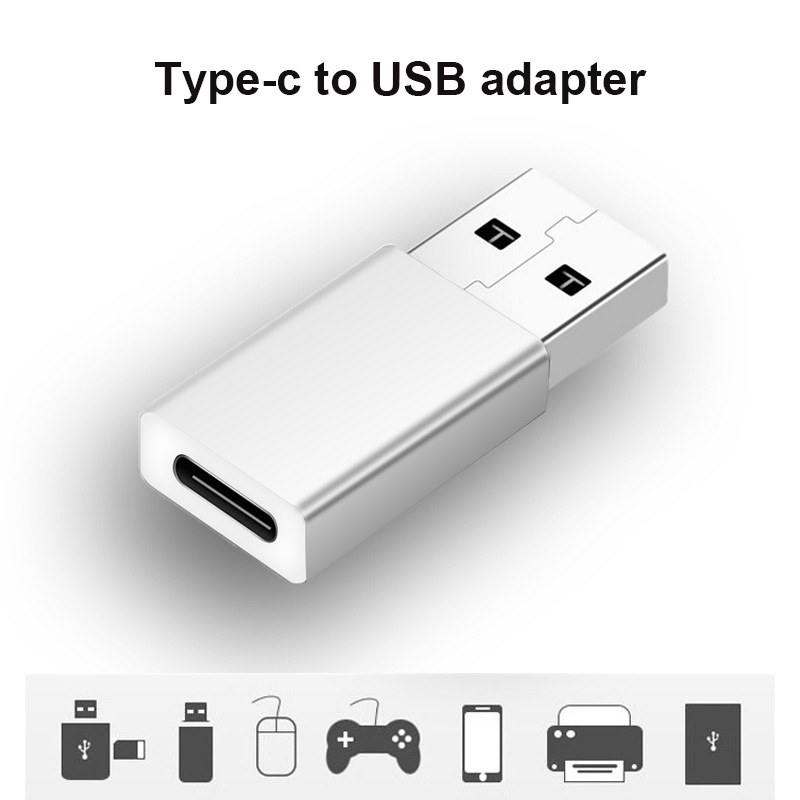 Etmakit USB3.1 Type-C Female To USB 3.0 Type-A Male USB 3.1 Type C Connector Converter Adapter NK-Shopping