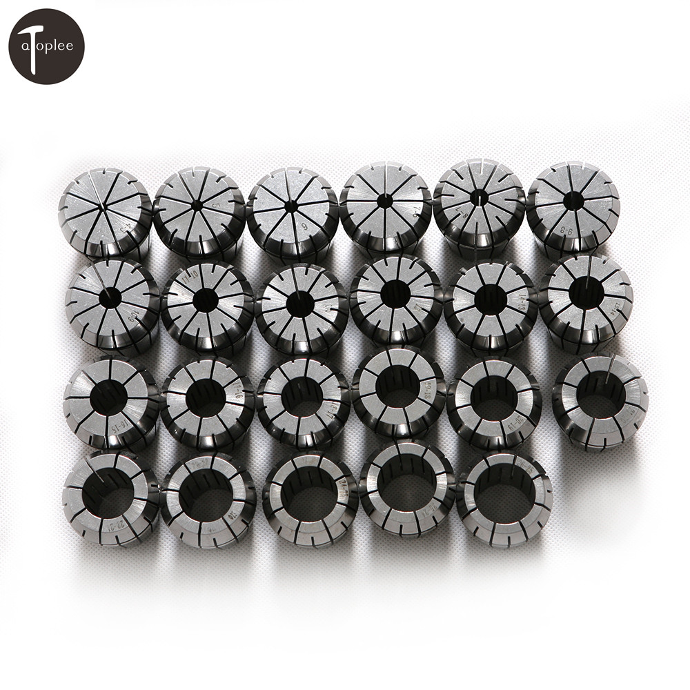 1pc ER40 High Precision Spring Collet Set 4~26mm CNC Engraving Milling Drilling Tapping Processing Clamping Tools precision processing cnc prototyping cnc milling service