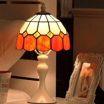 Creative European retro style LED table lamp romantic bedside lamp bedroom decoration night light indoor lighting E27