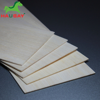 HAUBAY Balsa Wood Sheets DIY 1000x100x2mm Ligth Wood Can be Used for Models airplane Crafting Wooden Christmas Deals On Sale