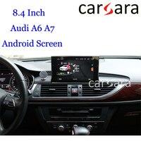 8,4 Octacore Android 2 Гб Оперативная память MMI навигации для Au di A6 A7 2012 2018 приборной панели радио Дисплей Замена планшет Сенсорный экран