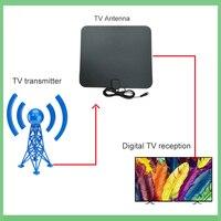 dvb digital חינם טלוויזיה פוקס HD Digital DTV מקורה טלוויזיה אנטנה TVFox HDTV Antena DVB-T DVB-T2 VHF UHF ISDB ATSC DVB אותות מקלט טלוויזיה אנטנה (4)