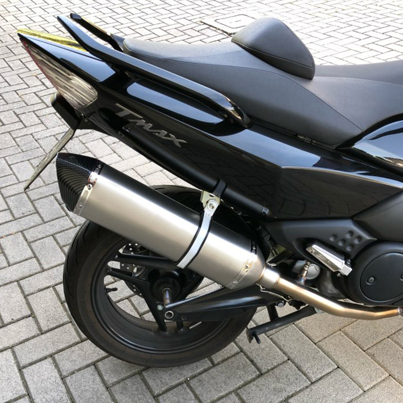 Moto rcycle silenziatore tubo di scarico akrapovic modificato escapamento de moto con db killer per tmax 530 500 cbr650f nc750x msx125