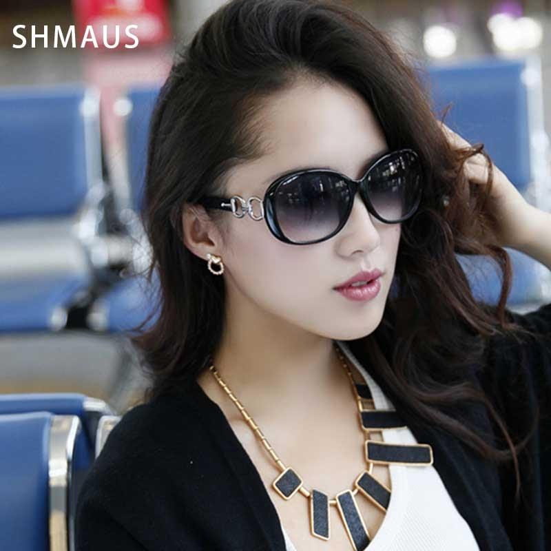 Dámské sluneční brýle Shamus s taškou Polarizované sluneční brýle Dámská móda UV400 brýle Dámské sluneční brýle Vintage brýle 2017