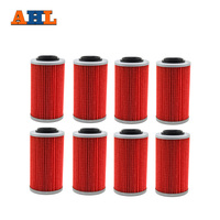 AHL 8pcs Powersports Cartridge Oil Filter Grid for CAN-AM SPYDER RT SE5 A/C 998// SPYDER RT SM5 A/C 998 2010-2012