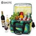Водонепроницаемый портативный мешок SIKOTE 22L для еды  пикника  теплоизоляционная сумка  сохраняющая свежесть  сумка-холодильник  коробка для ...