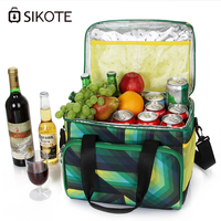 SIKOTE 22L Waterproof Portable Food Picnic Bags Insulation Keep fresh Cooler Bag Lunch Box Thermo Bag Lancheira Termica Marmitas