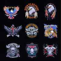 New2018 Eagle Route66 Military Tactical Army Patch Embroidered Patches Iron on Patches for Clothes stickers applique fabric 1pc