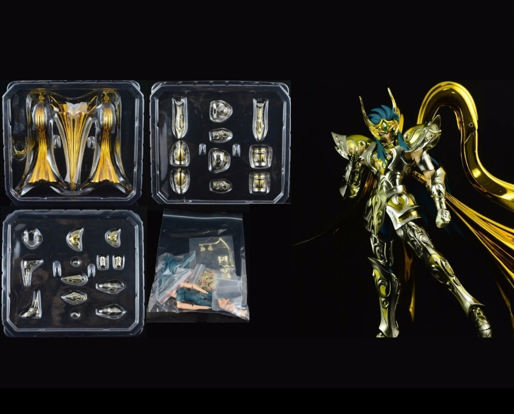 in stock Aquarius Camus Saint Seiya Myth Cloth EX soul of gold SOG Divine armor CS Speeding Aurora model toy PayPal Payment in stock death mask cancer saint seiya myth cloth ex s temple st metal club mc ex toy release 2017 4 02 paypal payment