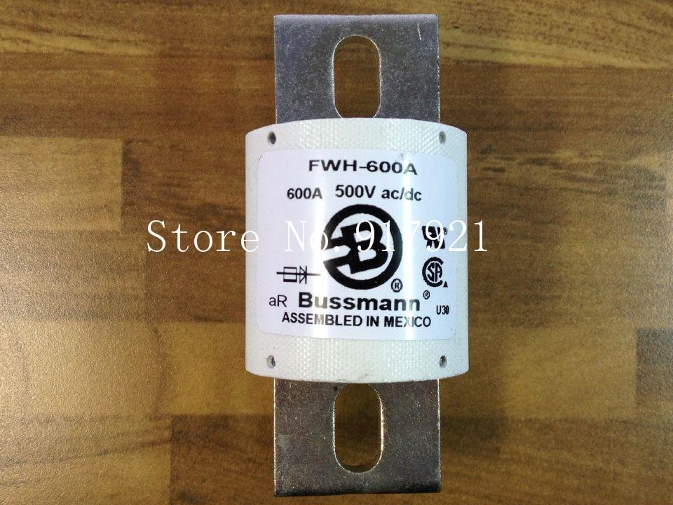 [ZOB] The United States Bussmann FWH-600A BUSS 500VAC/DC fuse fuse original