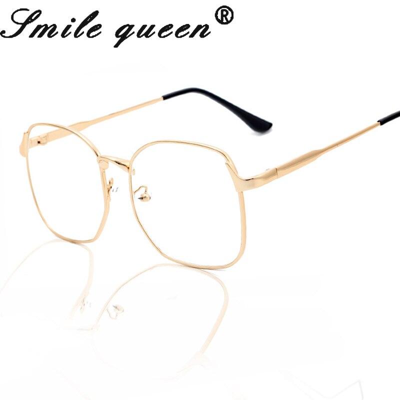 Fashion Square Gläser Gestalten Luxus Gold Metall Brillen Rahmen ...