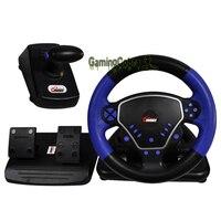Многофункциональный игровой контроллер руль, пригодный для Playstation PS2/PS3