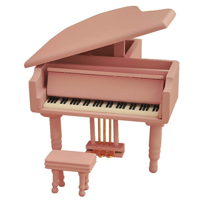 Toy birthday gift wooden piano music box girls free shipping Chrismas kids gifts