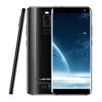 Leagoo Original S8 Telefone Móvel 5.72 ''MT6750T Octa Núcleo Android 7.0 3 GB de RAM 32 GB ROM Dual Back & Dual Câmeras Frontal de Impressão Digital