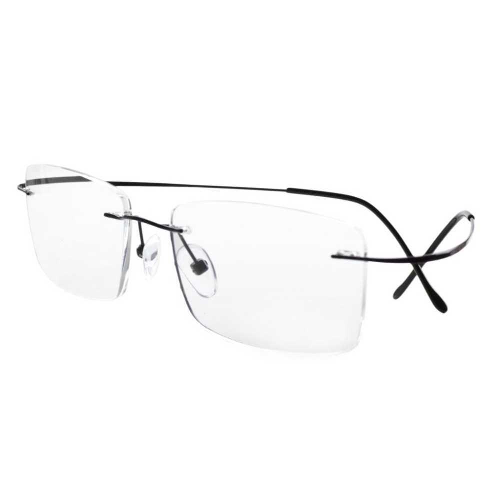 875ead4809c4 ... R1509 Eyekepper Titanium Rimless Reading Glasses Readers Men  +0.0/0.5/0.75/1.0 ...