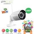 Ipcc al aire libre cámara ip 1080 p de visión nocturna cctv cámara inalámbrica wifi cámara de vídeo webcam motion detección y cuidado jardín