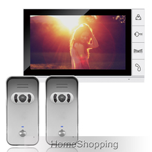 FREE SHIPPING Home Security Wired 9 inch Color Monitor Video font b Door b font phone