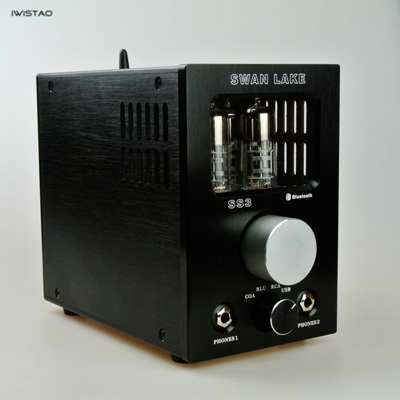 Tube Headphone Amplifier Decoder 6S6T USB Decoding Bluetooth 4.2 Receiver Coaxial Input Tube Preamplifier HIFI fanmusic 6p1 usb decoder tube amplifier