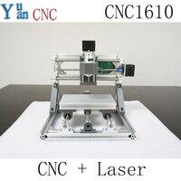 CNC 1610 GRBL Control Diy CNC Machine Working Area 16x10x4cm 3 Axis Pcb Pvc Milling Machine