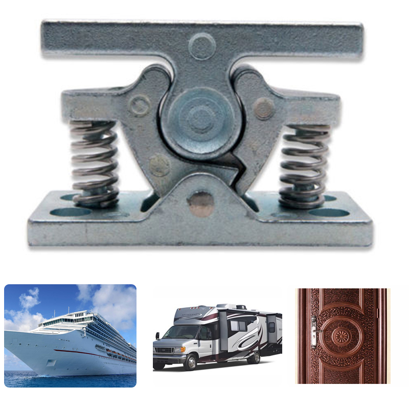 1PCS Zinc Alloy Door Stops Retainer Catch Door Stopper For Caravan Motorhomes And Boat Hardware Door Clip