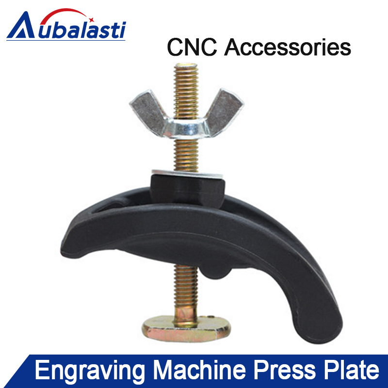 4Pcs CNC Milling Engraving Machine Parts Press Plate Clamp Fixture Fastening Platen Router For T-slot Working Table