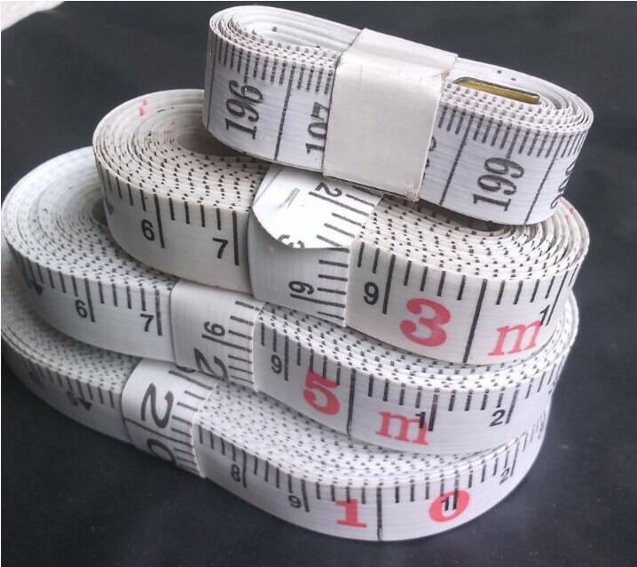 200mm~10m Patchwork Ruler Tape Measure Ruler Measuring Tape Waist Ruler Measure Slimming Measuring Tailor Sewing Tapes