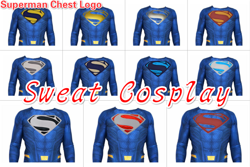 Aliexpress Buy High Quality Superman Rubber Chest Logo
