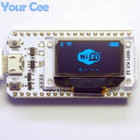 ESP32 Bluetooth WIFI Kit OLED Blue 0 96 Inch Display Module CP2102 32M Flash 3 3V