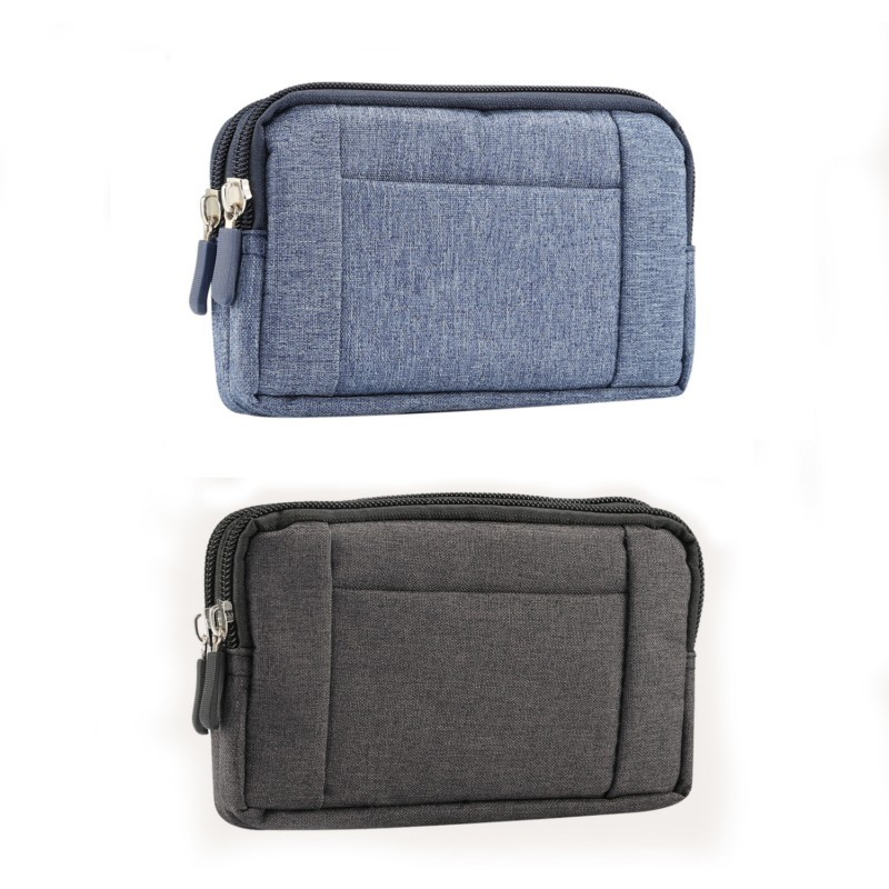 Universal Denim Belt Clip Sport Pouch Case For HTC One X/One S/One M7/U Play/One A9s/Google Pixel/One S9/10 Lifestyle