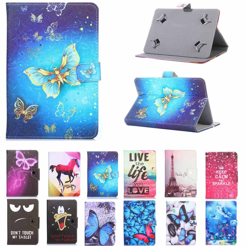 Universele Cover voor Prestigio Grace 5778 4G Pmt5778_4g 8 inch Tablet Gedrukt PU Leather Stand Case
