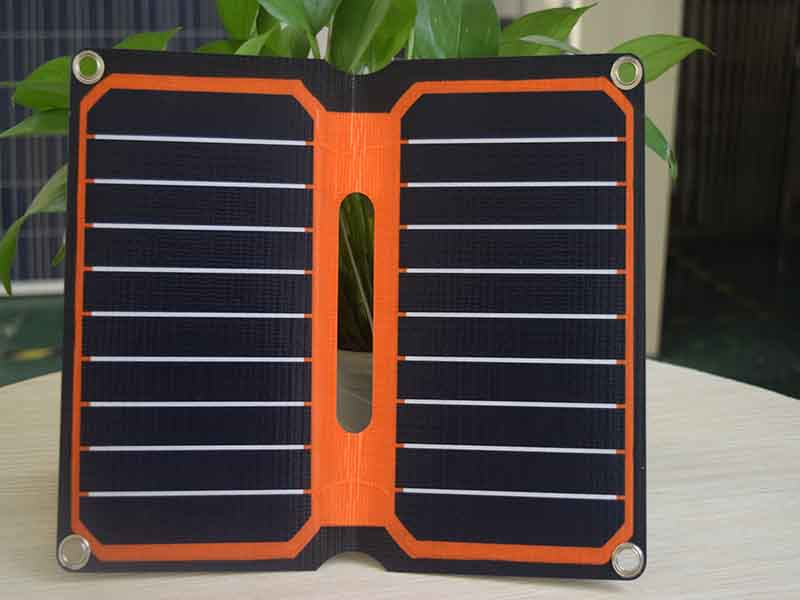 Xinpuguang 10W 5V solar charger ETFE high efficiency portable solar charger 12V solar panel cell flexible camping outdoor use