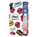 ANYLIFE Anti-shock premium back case (with pattern on edges) // IPHONE X - OMG -