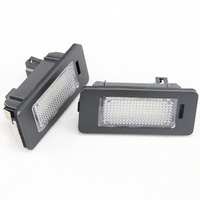 2pcs Lot 24 SMD Error Free LED License Plate Light Lamps For BMW 1 2 3